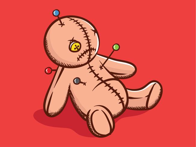 ブードゥー教の人形パターンダウンロード