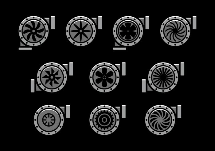ターボチャージャーアイコン 画像素材集ダウンロード