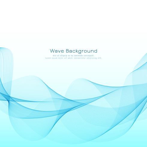 抽象的なブルーウェーブモダンデザインフリー 背景イラスト用抽象的な