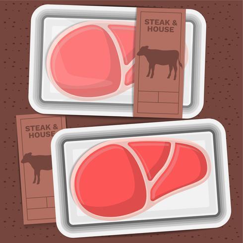 牛肉の熟成ステーキパターン素材ダウンロード