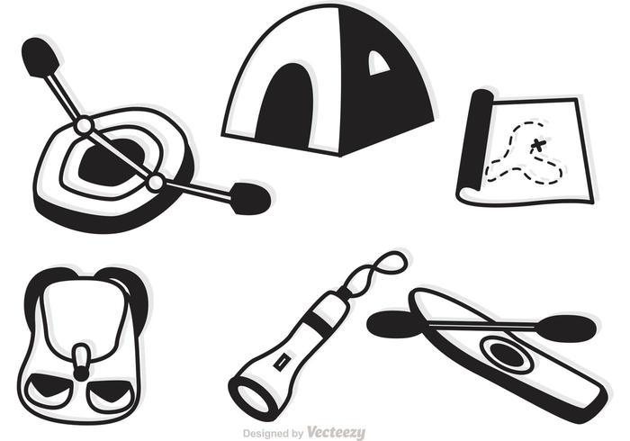 【野营和娱乐icon图】国外常用的野营和娱乐icon图下载,完整的向量图素材免费下载