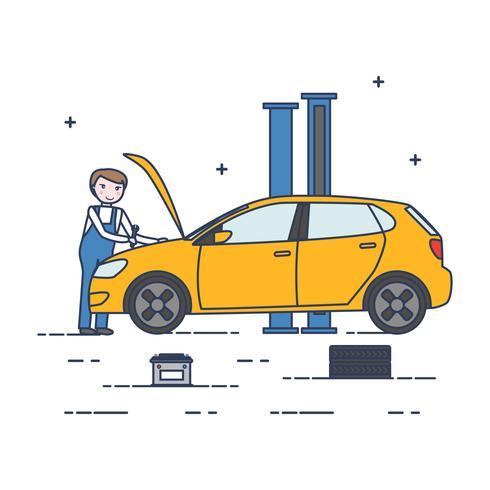 車のメカニックイラスト材料ダウンロード 完全無料のweb 背景 素材素材