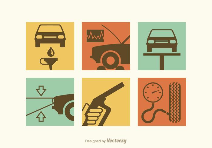 【汽车修理icon插画】生活能用的汽车修理icon插画下载,齐全的设计图素材包下载