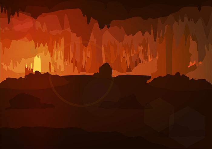 洞窟イラスト素材無料ダウンロードオシャレbg Patternfree Download