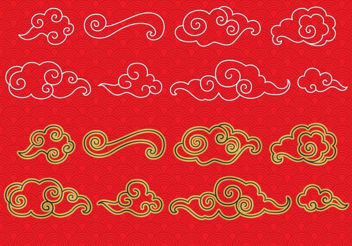 中国のクラウドパターン無料