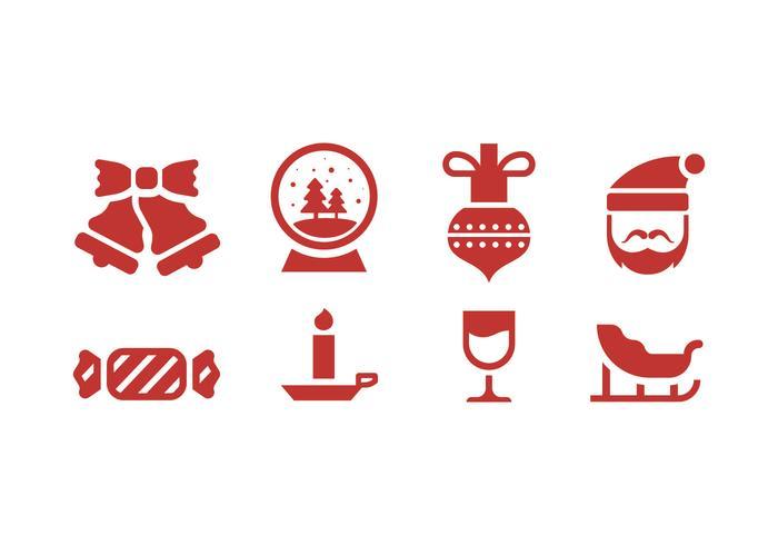 【圣诞节和冬季icon透明图】illustrator可用的圣诞节和冬季icon透明图下载,精细的插画免费下载