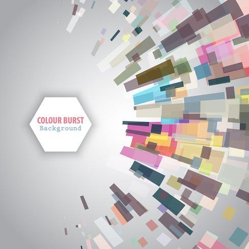 カラーバースト背景 素材 シンプル素材ダウンロード