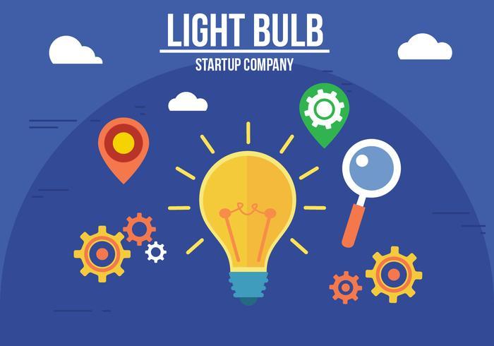 創造的な電球イラスト 写真素材ダウンロード