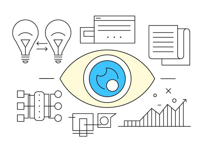 ビジネスのための目パターンfree download