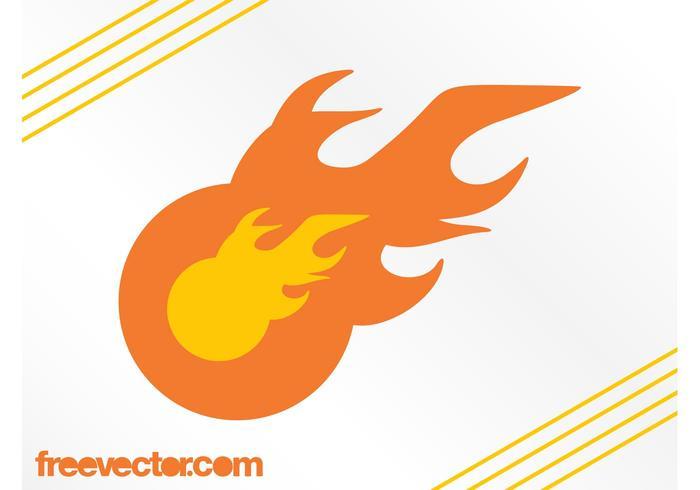 炎のロゴテンプレートvector素材ダウンロードベクトル背景 無料