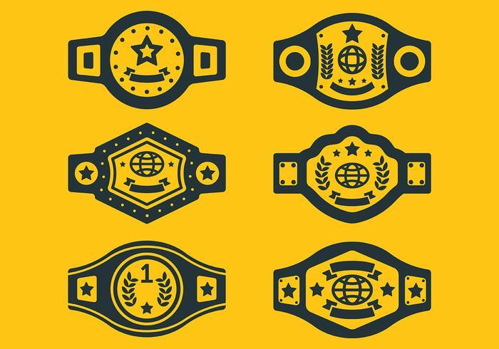 冠軍腰帶icon圖檔素材下載