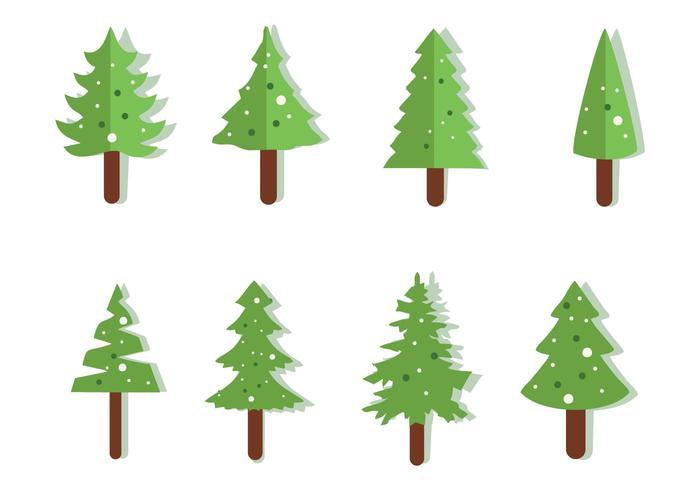 クリスマスツリーパターン無料