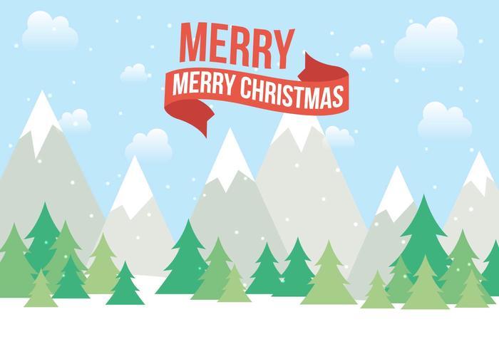 クリスマス風景素材 イラスト無料ダウンロード宿題用背景 パターン無料