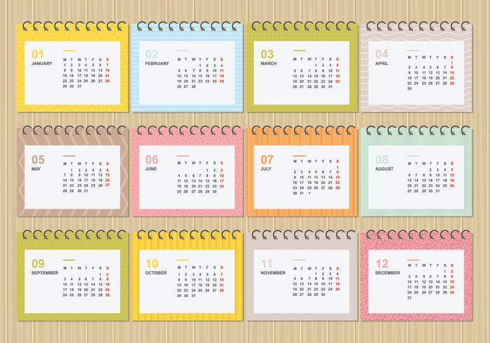 【桌面日历2018与软颜色模板图示】无版权的桌面日历2018与软颜色模板图示下载,卓越的图档免费下载