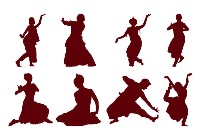 【印度舞蹈的剪影图片】做卡片用的印度舞蹈的剪影图片下载,精致的底图下载