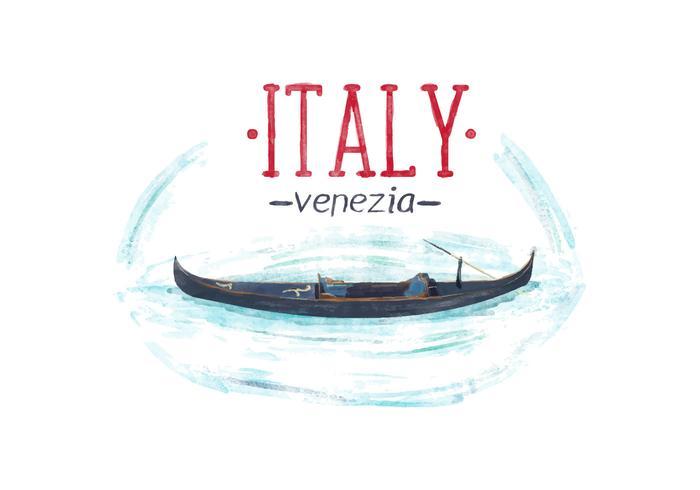 【意大利威尼斯水彩图片】很棒的意大利威尼斯水彩图片下载,高质感的图示素材免费下载