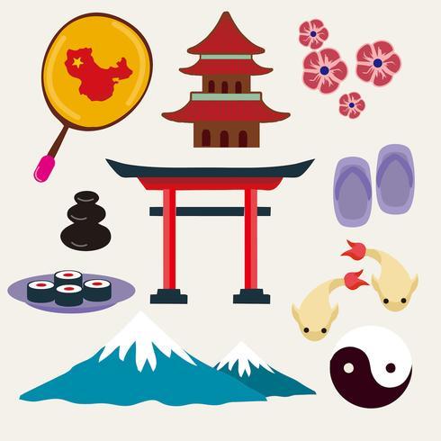 【日本旅游icon点阵图】可编辑的日本旅游icon点阵图下载,精品的Q板图下载