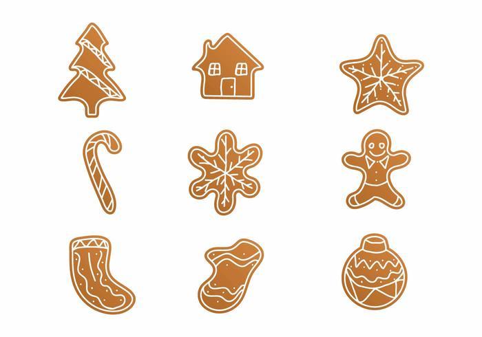糖霜餅乾向量卡通素材下載
