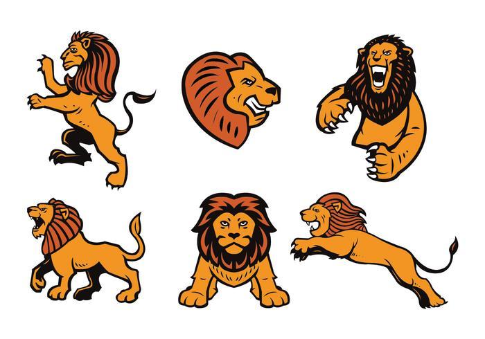 ライオンズのロゴパターンfree download