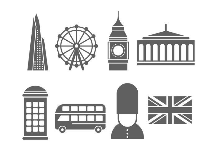 倫敦地標和圖片下載
