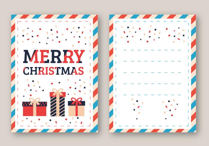 メリークリスマスカードイラスト 素材素材無料ダウンロード常用する