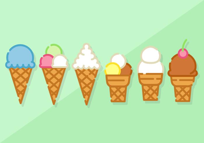 ミニマルアイスクリーム写真 イラスト素材集ダウンロード