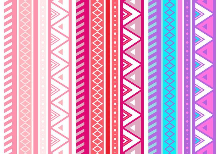 粉色阿茲特克幾何壁紙插圖插畫下載