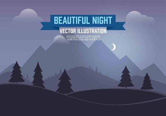 夜の風景素材 画像free download