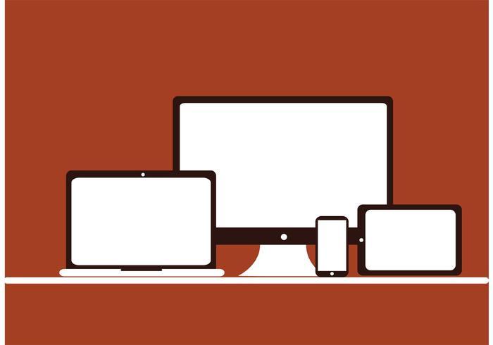 デジタルデバイスのアイコン 画像素材無料ダウンロード