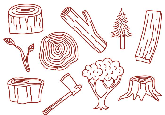 木素材 画像無料