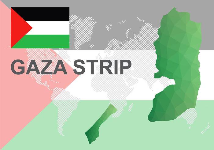 加沙地圖背景圖下載,線條圖下載