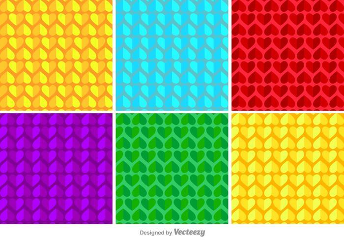 幾何心壁紙圖矢量卡通素材下載,透明背景下載