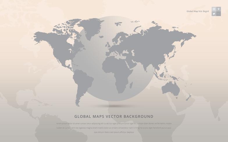 グローバルマップ。写真 イラスト素材集ダウンロード