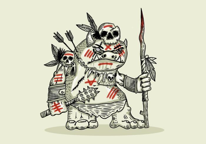 ゴブリンの戦士可愛い イラストダウンロード おすすめですウィーバー