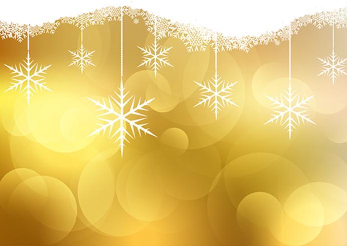 金色的聖誕節背景圖素材下載