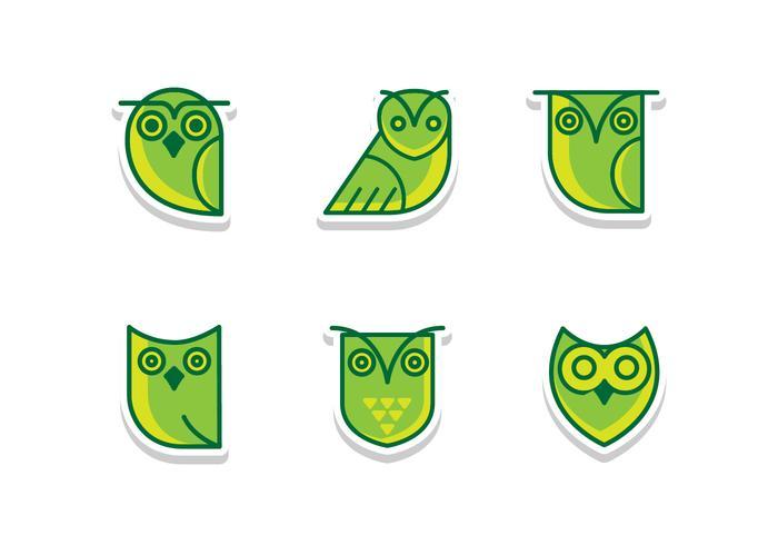平面グリーンパターン素材無料ダウンロード