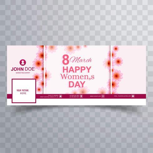 【妇女节快乐facebook封面卡通】排版用的妇女节快乐facebook封面卡通下载,精品的壁纸素材包下载