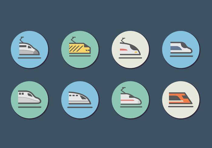 平面高速鐵路tgv城市列車顏色圖片素材免費下載