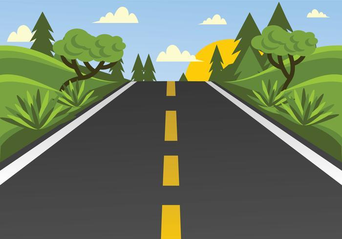高速公路向量圖檔素材包下載