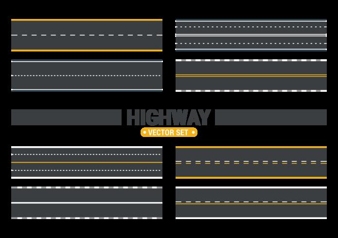 高速公路向量圖片免費下載