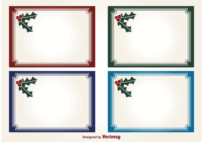 冬青聖誕節向量圖素材免費下載