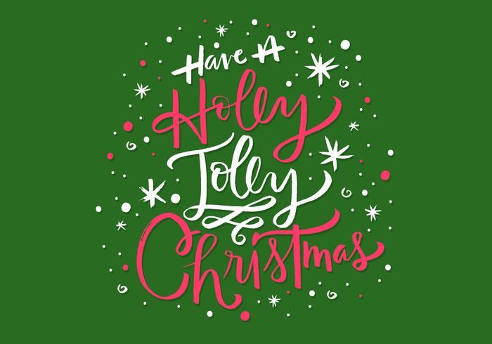 冬青快樂聖誕字母圖片素材免費下載