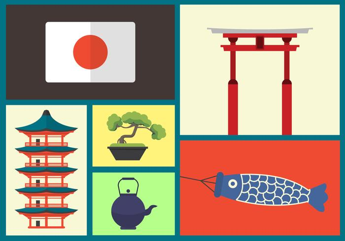 日本向量圖示素材下載