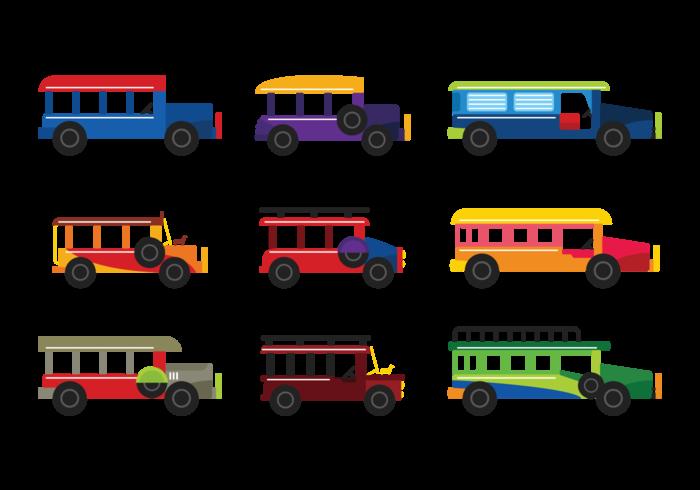 【吉普车向量插图】套版可用的吉普车向量插图下载,华丽的图像素材免费下载