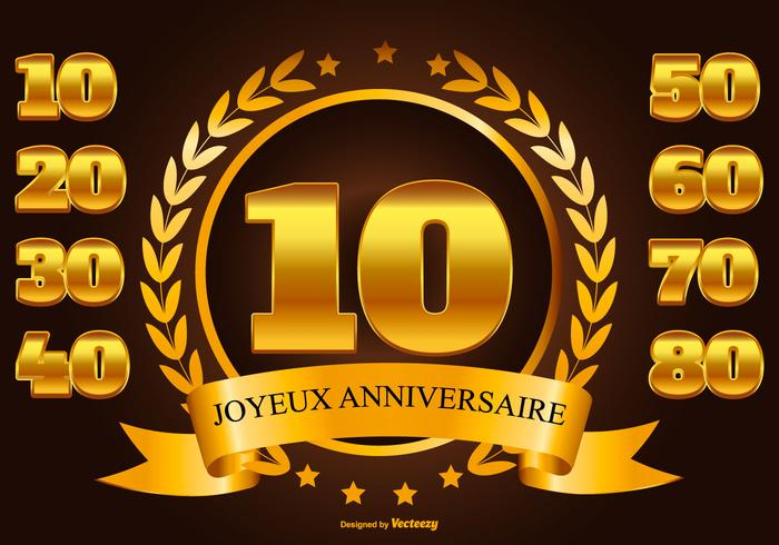 【Joyeux生日图片】高画质的Joyeux生日图片下载,有设计感的标志下载