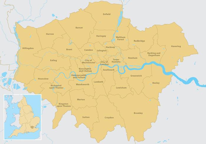 倫敦地圖圖示下載,標誌下載