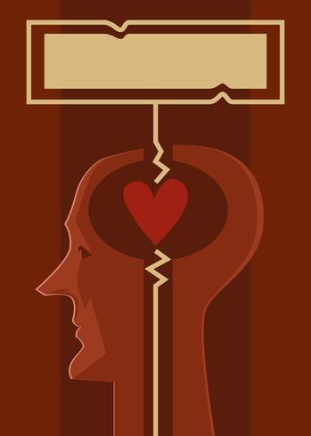 愛情哲學書封面矢量圖案下載