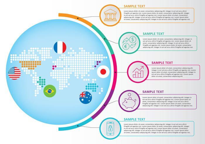地圖infography卡通素材下載,標誌下載