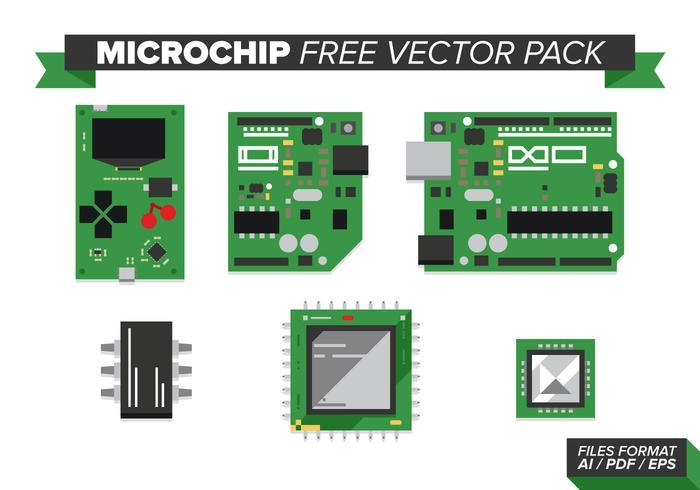 【微芯片矢量图形】精美的微芯片矢量图形下载,完整的小图素材免费下载