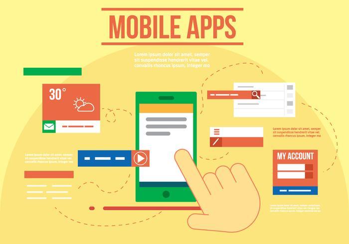 モバイルアプリ無料 イラスト素材ダウンロード